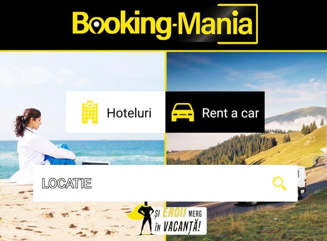 aplicatia booking mania